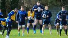 Cian Healy helps make up an all new Leinster front row this weekend. Photograph: Gary Carr/Inpho