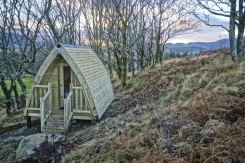 "Most of the bookings for the pod come through Airbnb, with the majority of guests coming from Europe. </br>""Last weekend we had two sisters who came from France just for the weekend to stay in the pod,"" says Gavin. The pod is only available when the lodge is free – as the pod itself has no utilities. Such has been the interest in the pod that Gavin is now adding a further three units with separate facilities. A night in the pod, which sleeps two, is €50."