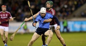 Liam Rushe returned to the Dublin side after suspension  against Galway in the Allianz Hurling League Division One A game at  Parnell Park. Photograph: Ryan Byrne/Inpho.