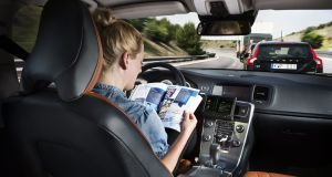 Volvo driverless technology