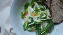 Give Me Five: Fennel salad with pâté toast
