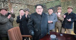 "North Korea's leader Kim Jong-un: his only significant ally, China, urged the North to abandon its ""self-destructive course"". Photograph: Reuters"