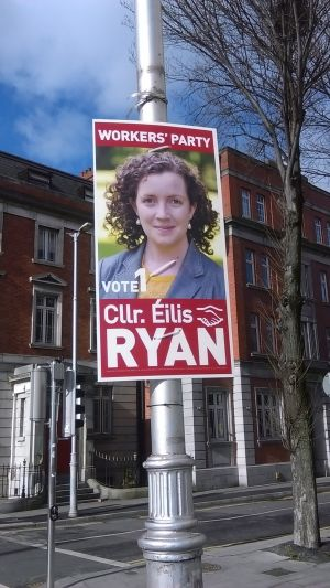 Workers' Party candidate Éilis Ryan. Photograph: Ciaran D'Arcy