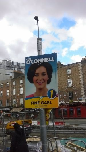 Fine Gael TD for Dublin Bay South, Kate O'Connell. Photograph: Ciaran D'Arcy