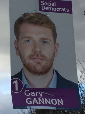 Gary Gannon of the Social Democrats.