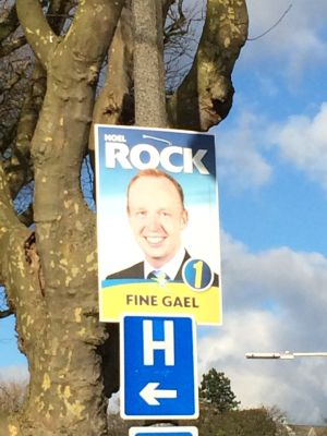 Fine Gael's Noel Rock (Dublin North West).