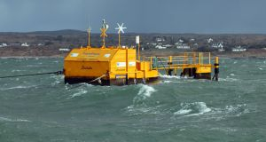 "The Marine Renewables Industry Association says there are still ""technical challenges"" to be overcome offshore. Photograph: Joe O'Shaughnessy"