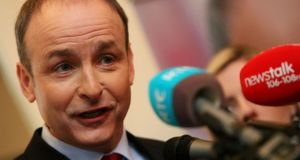 Fianna Fáil will seek support from Independent TDs and small parties for Micheál Martin's bid to become Taoiseach. Photograph: Brian Lawless/PA Wire