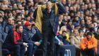 Arsène Wenger believes the race for the title is far from over. Photograph: Getty
