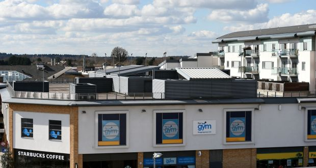 The Roof Top Car Park On Of A Gym Complex In Farnborough Which Is