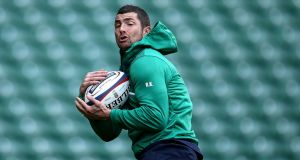 Rob Kearney is a doubt for Ireland's Six Nations clash with Italy this weekend. Photo: Dan Sheridan/Inpho