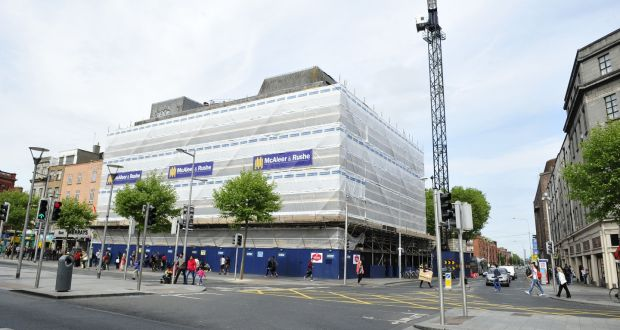 The 198 Bedroom Holiday Inn Express Taking Shape On O Connell Street In Dublin