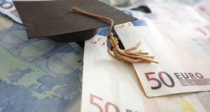 A report submitted recently to the Department of Education provides fresh details on how an income-contingent loan system for graduates could operate. File photograph: Thinkstock