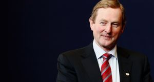 Fine Gael leader  Taoiseach Enda Kenny: his party, which proposed a graduate tax in its 2011 general election manifesto, is broadly supportive of a student loan scheme. Photograph: Dean Mouhtaropoulos/Getty Images