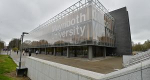 Numbers at Maynooth university have jumped from just under 9,000 in 2008 to more than 11,000 this year. Yet employment restrictions mean staffing numbers have fallen in recent years.  File photograph: Alan Betson/The Irish Times