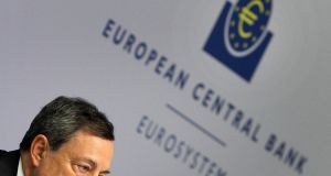 ECB president Mario Draghi. The ECB has cut its main interest rate to zero , taking the financial markets by surprise as it unveils a major efforts to boost the euro zone economy.