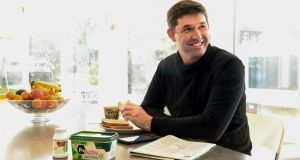 Padraig Harrington gets his cholesterol levels closer to par