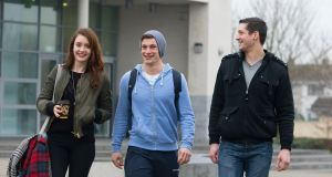 Students at Waterford Institute of Technology. Photograph: Patrick Browne