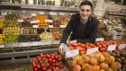 Donal Skehan, The Irish Times Magazine's newest food columnist. Photograph: Dara Mac Dónaill / The Irish Times