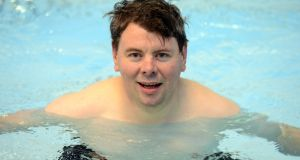 Irish times swimmer Malachy Clerkin feels he has been lazy. A lazy gobshite in fact. Photograph: Dara Mac Dónaill