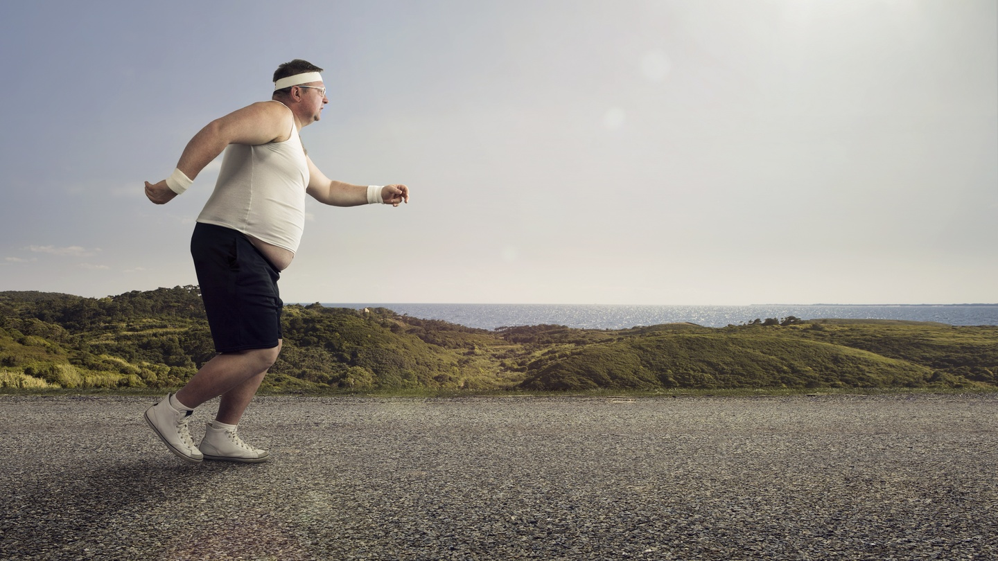 Image result for obese men exercising india