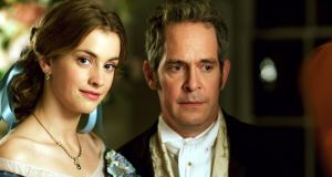 Greatish expectations: Tom Hollander and Stefanie Martini in 'Doctor Thorne'