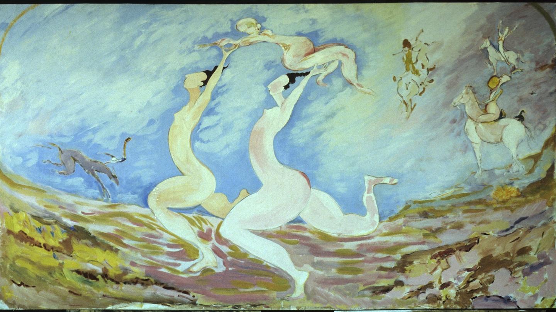 Modern ireland in 100 artworks 1984 celebration the beginning of labour by pauline cummins