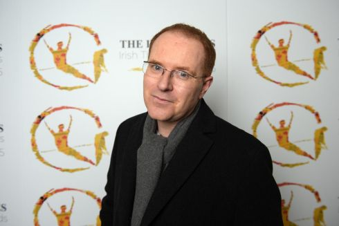 The playwright Conor McPherson, best new-play nominee. Photograph: Bryan Meade