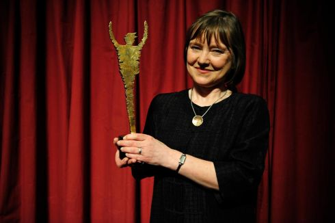 Special tribute award: Anne Clarke of Landmark Productions. Photograph: Aidan Crawley