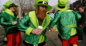 """St Patrick's Day has very little to do with our collective identity."" Photograph: Angela Rowlings/AP Photo"