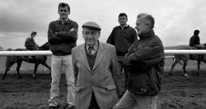 Tony Mullins, Paddy Mullins, George Mullins and Willie Mullins. Photo: Inpho