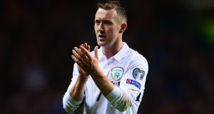 Aiden McGeady scored this weekend, good news for Ireland manager Martin O'Neill. Photograph: Mark Runnacles/Getty Images