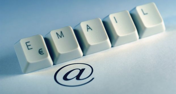 Fortunately, in newspaper columns you can still say what you think. In email it is no longer possible. Photograph: Getty Images