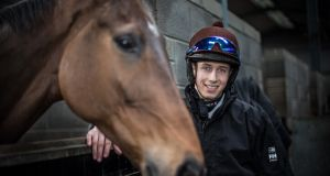 Under the microscope: Jockey Bryan Cooper can expect his every move with the Michael O'Leary-owned Gigginstown Stud team at Cheltenham to be closely monitored. Photograph: Cathal Noonan/INPHO