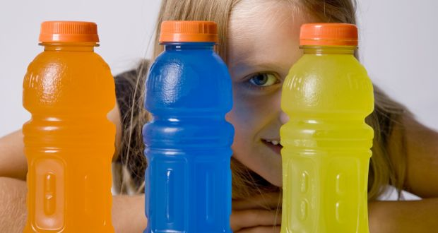 What happens when a child consumes an energy drink?