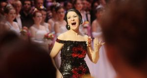 Romanian soprano Angela Gheorghiu: has often been in the news for all the wrong reasons. Photograph: Dieter Nagl/AFP/Getty Images