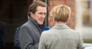 Former jockey Tony McCoy during Champion Day of the 2016 Cheltenham Festival. Photograph: PA