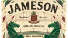 Limited edition: Jameson bottle with James Early label