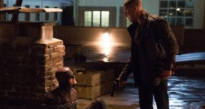 Jon Bernthal, right, as Punisher in Daredevil