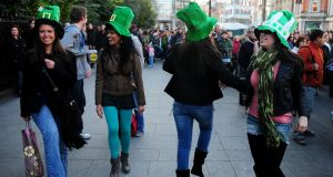 Without the booze, you can enjoy being far better at your one two threes than your less sober friends at this year's Festival Céilí,  on Earlsfort Terrace on Friday 18th at 4.30pm. Photograph: Aidan Crawley/The Irish Times