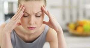 Migraine is three times more common in women than in men and is inherited in about 60 per cent of cases. Photograph: Thinkstock