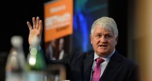 Businessman Denis O'Brien is suing the Revenue Commissioners claiming they breached his privacy by providing details of his tax affairs to the media. Photograph: Dara Mac Dónaill/The Irish Times.