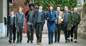 School's out The cast of Sing Street