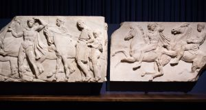 Some of the Elgin Marbles, which Greece wants back. Photograph: Getty