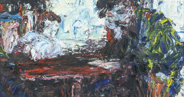 cceef664b4 'Man Reading', by Jack B Yeats (1945), was acquired from. '