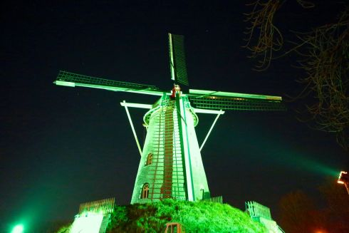 Windmill in Weert, the Netherlands - part of Tourism Ireland's Global Greening initiative.
