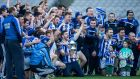 Ballyboden St Enda's celebrate their AIB All-Ireland Club SFC win over Castlebar Mitchels at Croke Park. Photograph: Cathal Noonan/Inpho