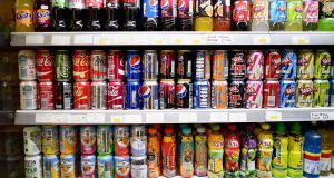 Britain has decided to impose a tax on sugary soft drinks as part of measures announced in the budget. Photograph: Getty