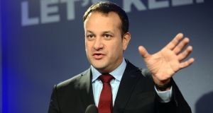 Minister for Health Leo Varadkar had championed a 20 per cent tax on sugary drinks. Photograph: Dara Mac Dónaill