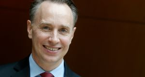France's biggest insurer Axa newly appointed deputy CEO Thomas Buberl. Photograph:  Christian Hartmann/Reuters
